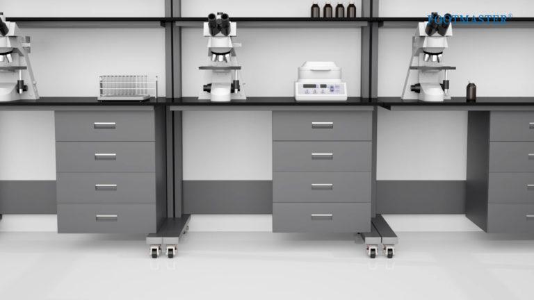 Roulette d'immobilisation - laboratoire