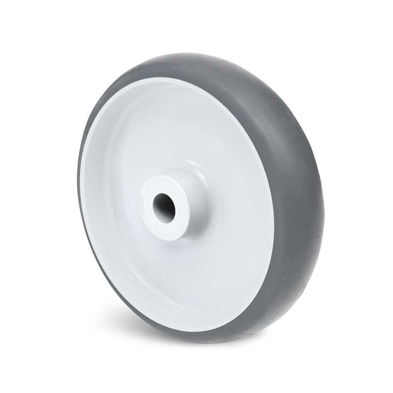 Roues caoutchouc thermoplastique - corps polypropylène