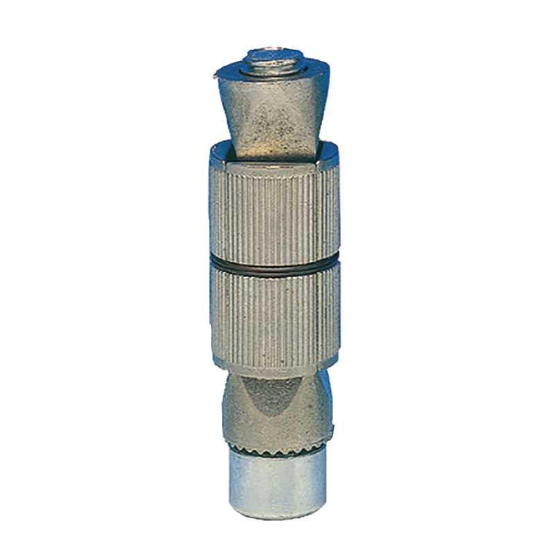 Fixation élastomère pour tube rond