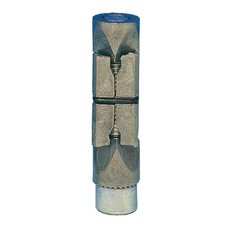 Fixation métal pour tubes carrés