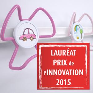 Le porte-manteau anti-poux reçoit le Prix de l'Innovation 2015