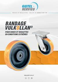 Roues et roulettes à bandage Vulkollan