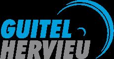 Logo Guitel Hervieu couleur bleu et gris