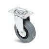 Roulette à platine – De 50 à 200 kg - à platine pivotante, 27, 50, 80, 107, 33, 105x80, 9, à rouleaux, 80x60