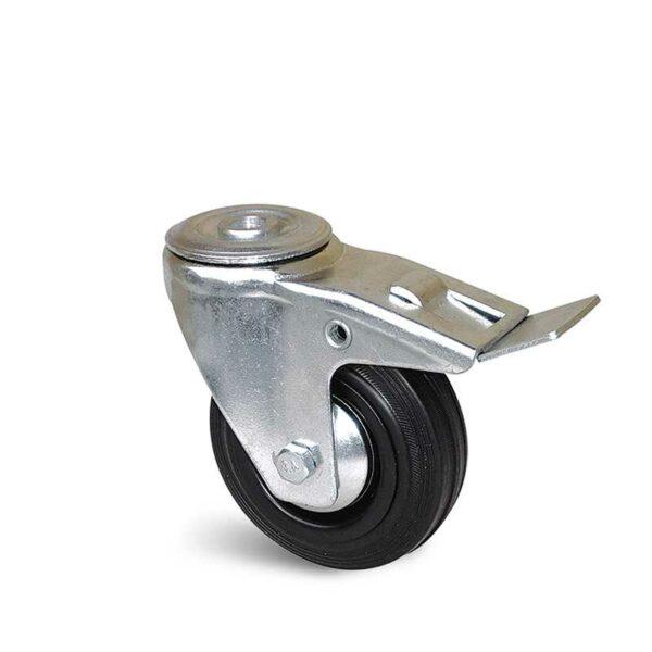 Roulette à trou central – 80 à 200 kg