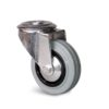 Roulette à trou central – 50 à 100 kg - à trou central pivotante, 27, 50, 80, 105, 33, 12.5, à rouleaux