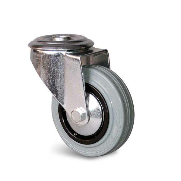 Roulette à trou central – 50 à 100 kg