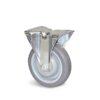 Roulette à platine – De 70 à 100 kg - à platine fixe, 32, 70, 80, 108, Roulette à platine acier, 105x85, 9, à billes, 80x60