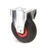Roulette à platine – De 75 à 200 kg - à platine fixe, 87, 200, 260, 311, -, 175x145, 11, à rouleaux, 140x105