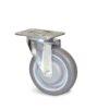 Roulette à platine – De 70 à 100 kg - à platine pivotante, 32, 70, 80, 108, 41, 105x85, 9, à billes, 80x60