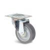 Roulette à platine – De 70 à 200 kg - à platine pivotante, 32, 70, 80, 108, 41, 105x85, 9, à rouleaux, 80x60