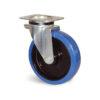 Roulette à platine – 300 à 400 kg - à platine pivotante, 50, 300, 125, 164, 50, 135x110, 11, à billes, 105x80