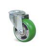 Roulette à trou central – De 150 à 300 kg - à trou central pivotante, 50, 300, 160, 195, 55, 12.5, à billes