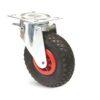 Roulette à platine – De 75 à 200 kg - à platine pivotante, 87, 200, 260, 311, 85, 175x145, 11, à rouleaux, 140x105
