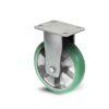 Roulette à platine – 350 à 750 kg - à platine fixe, 50, 550, 160, 205, Roulette à platine acier, 150x110, 13, à billes, 105x80