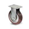 Roulette à platine – 350 à 770 kg - à platine fixe, 50, 350, 100, 150, Roulette à platine acier, 150x110, 13, à billes, 105x80