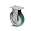 Roulette à platine – 350 à 750 kg - à platine fixe, 38, 350, 125, 177, Roulette à platine acier, 150x110, 13, à billes, 105x80