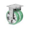 Roulette à platine – 630 à 1250 kg - à platine fixe, 50+50, 630, 100, 150, Roulette à platine acier, 150x175, 14.5, à billes, 105x80
