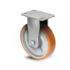 Roulette à platine – 400 à 1300 kg - à platine fixe, 75, 600, 85, 144, Roulette à platine acier, 150x110, 13, à billes, 105x80