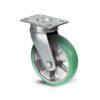 Roulette à platine – 350 à 750 kg - à platine pivotante, 50, 550, 160, 205, 55, 150x110, 13, à billes, 105x80