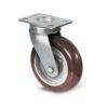Roulette à platine – 350 à 770 kg - à platine pivotante, 50, 350, 100, 150, 41, 150x110, 13, à billes, 105x80