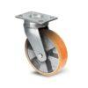Roulette à platine – 400 à 1000 kg - à platine pivotante, 50, 400, 100, 150, 43, 150x110, 13, à billes, 105x80