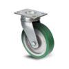 Roulette à platine – 350 à 750 kg - à platine pivotante, 38, 350, 125, 177, 52, 150x110, 13, à billes, 105x80