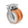 Roulette à platine – 720 à 1500 kg - à platine pivotante, 50+50, 720, 100, 150, 60, 150x110, 14.5, à billes, 105x80