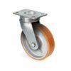 Roulette à platine – 400 à 1300 kg - à platine pivotante, 75, 600, 85, 144, 45, 150x110, 13, à billes, 105x80