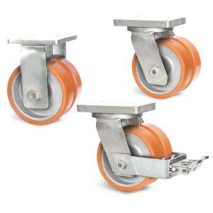 Roulette à platine – 1250 à 2150 kg