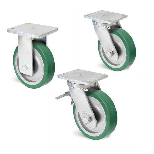 Roulette à platine – 800 à 1250 kg