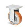 Roulette à platine – 1000 à 2000 kg - à platine fixe, 80, 1000, 150, 212, Roulette à platine acier, 175x140, 14, à billes, 140x105