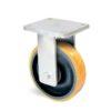 Roulette à platine – 1370 à 2060 kg - à platine fixe, 75, 1370, 200, 264, Roulette à platine acier, 175x140, 14, à billes, 140x105