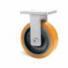 Roulette à platine – 1370 à 2750 kg - à platine fixe, 75, 1370, 200, 200, Roulette à platine acier, 200x160, 18, à billes, 160x120