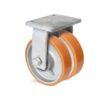 Roulette à platine – 1800 à 4500 kg - à platine fixe, 75+75, 3250, 250, 250, Roulette à platine acier, 200x160, 18, à billes, 160x120