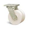 Roulette à platine – 3000 kg - à platine pivotante, 55+55, 3000, 125, 185, 50, 175x140, 14, à billes, 140x105
