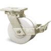 Roulette à platine – 3000 kg - à platine pivotante à simple blocage, 55+55, 3000, 125, 185, 50, 175x140, 14, à billes, 140x105