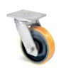 Roulette à platine – 1370 à 2060 kg - à platine pivotante, 75, 2060, 300, 365, 82, 175x140, 14, à billes, 140x105