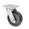 Roulette à platine – 500 à 700 kg - à platine pivotante, 75, 500, 200, 264, 67, 175x140, 14, à billes, 140x105