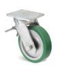 Roulette à platine – 800 à 1250 kg - à platine pivotante à double blocage, 75, 800, 200, 264, 67, 175x140, 14, à billes, 140x105