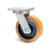 Roulette à platine – 1370 à 2750 kg - à platine pivotante, 75, 1370, 200, 200, 65, 200x160, 18, à billes, 160x120