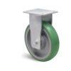 Roulette à platine – 500 à 750 kg - à platine fixe, 50, 700, 200, 245, Roulette à platine acier, 138x110, 11, à billes, 105x80