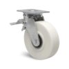 Roulette à platine – 1500 kg - à platine pivotante à double blocage, 55, 1500, 100, 145, 45, 138x110, 11, à billes, 105x80