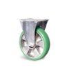 Roulette à platine – 350 à 400 kg - à platine fixe, 350, 100, 140, Roulette à platine acier, 135x115, 11, à billes, 105x80, 50
