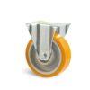 Roulette à platine – 400 kg - à platine fixe, 50, 400, 125, 164, Roulette à platine acier, 135x115, 11, à billes, 105x80
