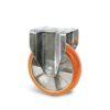 Roulette à platine – 450 à 800 kg - à platine fixe, 50, 450, 125, 164, Roulette à platine acier, 135x115, 11, à billes, 105x80