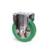 Roulette à platine – 400 à 800 kg - à platine fixe, 50, 400, 125, 164, Roulette à platine acier, 135x115, 11, à billes, 105x80