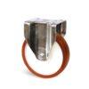 Roulette à platine – 500 à 750 kg - à platine fixe, 45, 500, 125, 164, Roulette à platine acier, 135x115, 11, à billes, 105x80