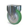 Roulette à platine – 550 à 750 kg - à platine fixe, 50, 550, 160, 199, Roulette à platine acier, 135x115, 11, à billes, 105x80