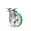 Roulette à platine – 350 à 400 kg - à platine pivotante, 350, 100, 140, 45, 135x110, 11, à billes, 105x80, 50